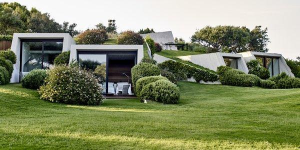 An Architect Unites Three Brutalist Villas He Designed on Sardinia in the 1970s