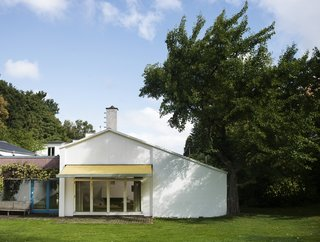 The exterior of Finn Juhl's house.