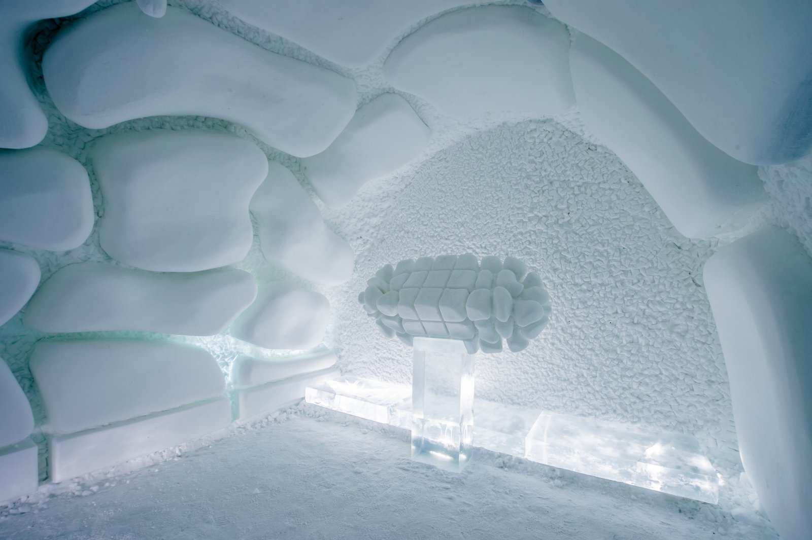 Icehotel Sweden blossom ice suite