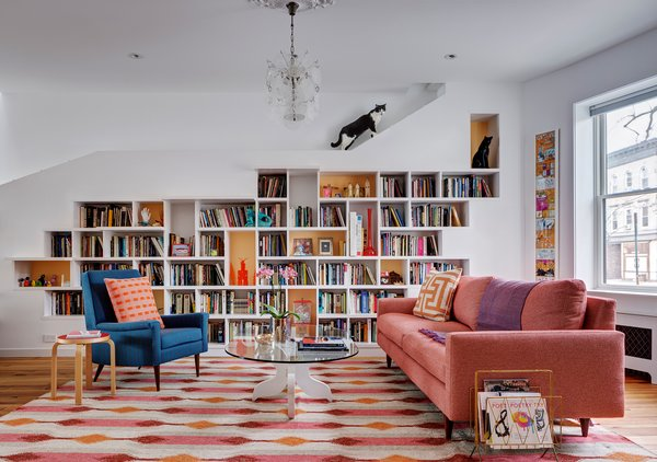 The House for Booklovers and Cats by BFDO Architects
