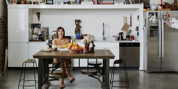 Kitchens We Love: Newly Minted James Beard Award Winner Nina Compton Shows Her Loft Kitchen