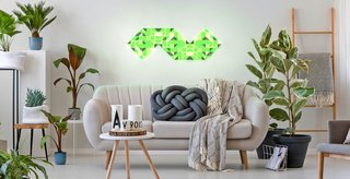 LaMetric's new Sky mosaic light panels.