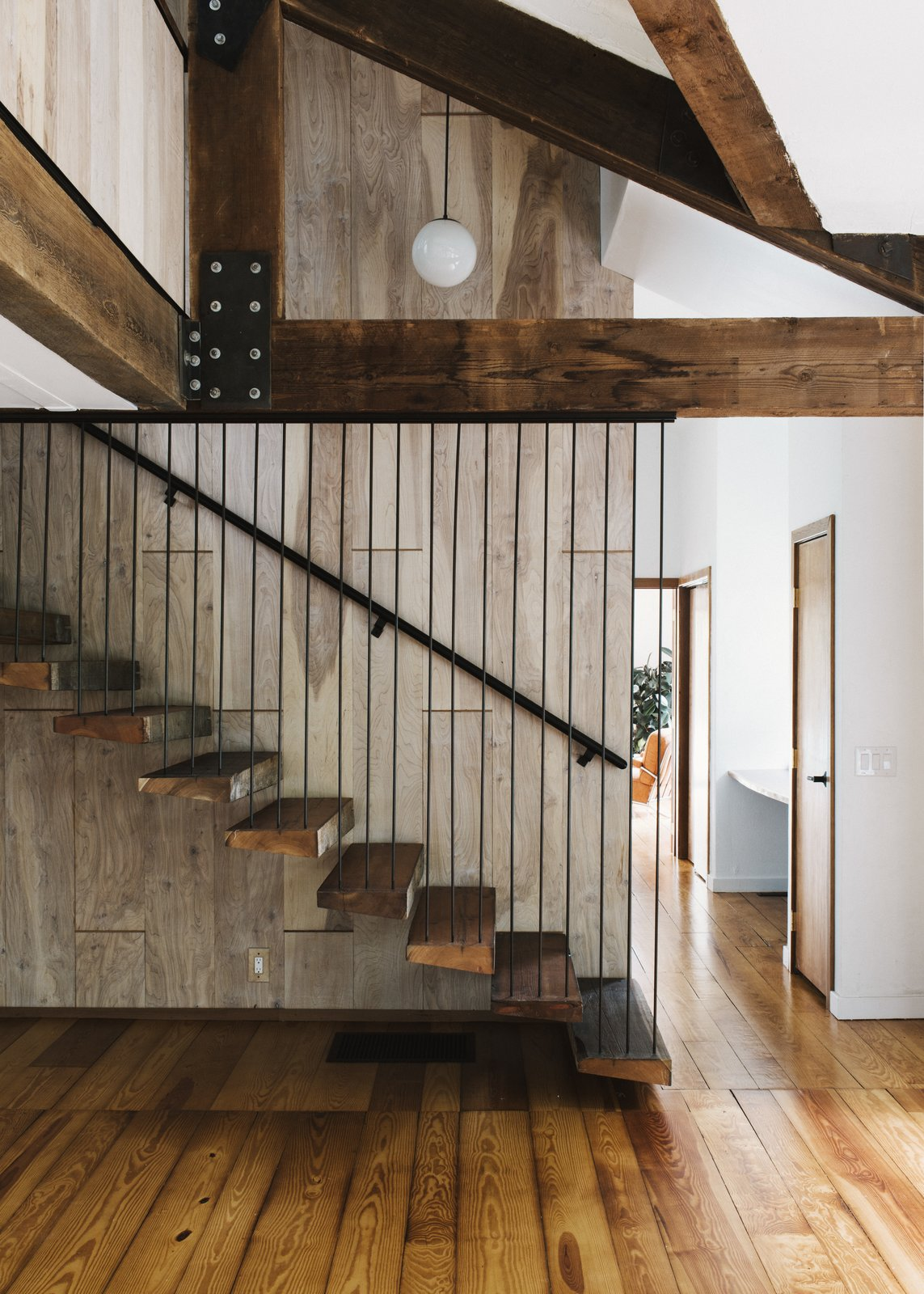 Stonorov-Churchill Residence staircase