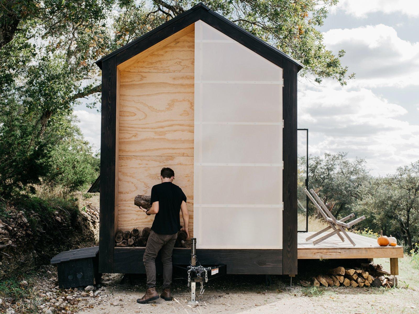 Elsewhere Cabin fiberglass door