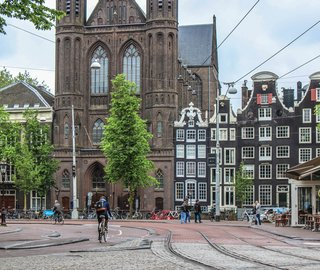 For centuries, brick has played an important part in Amsterdam's architecture. For instance, throughout the 17th century, wooden buildings were torn down and replaced with brick ones. Today, local architects heavily rely on this durable material in both traditional and experimental projects.