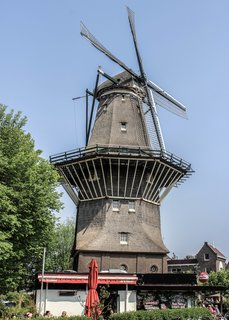 If you're looking for a unique place to sip on locally crafted beer, stop by Brouwerij 't IJ—a small modern brewery nestled under the De Gooyer windmill.