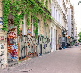 Berlin was once dubbed the world's mecca for urban graffiti. Here is a glimpse at some of the street art that can be found around town.