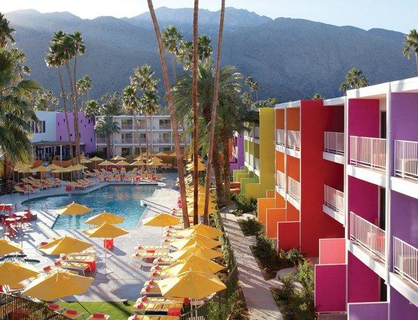 The Saguaro Hotel in Palm Springs, California