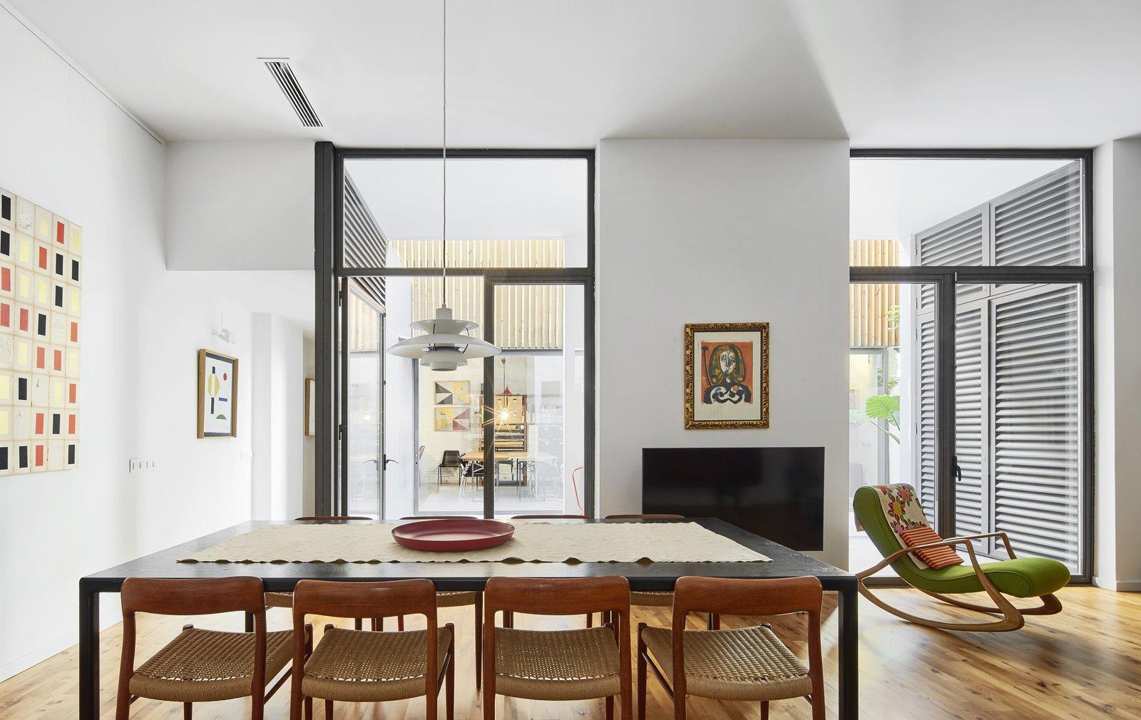 Up Garcia Home Studio dining room