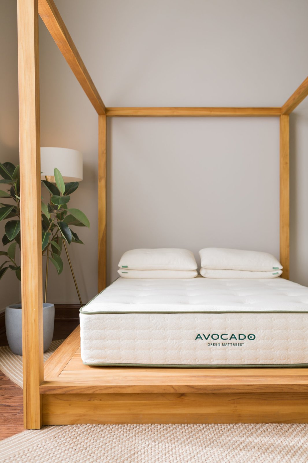 Avocado Green Mattress  Photo 5 of 8 in 7 Best Affordable Mattress Companies That Will Take You to Cloud Nine