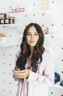 Since opening Chillhouse nearly two years ago in Manhattan's Lower East Side, Cyndi has made it her mission to create a calm, airy setting for those looking to escape the hustle and bustle of the Big Apple. Here, visitors can find warm pastries, colorful lattes, as well as massages and manicures.