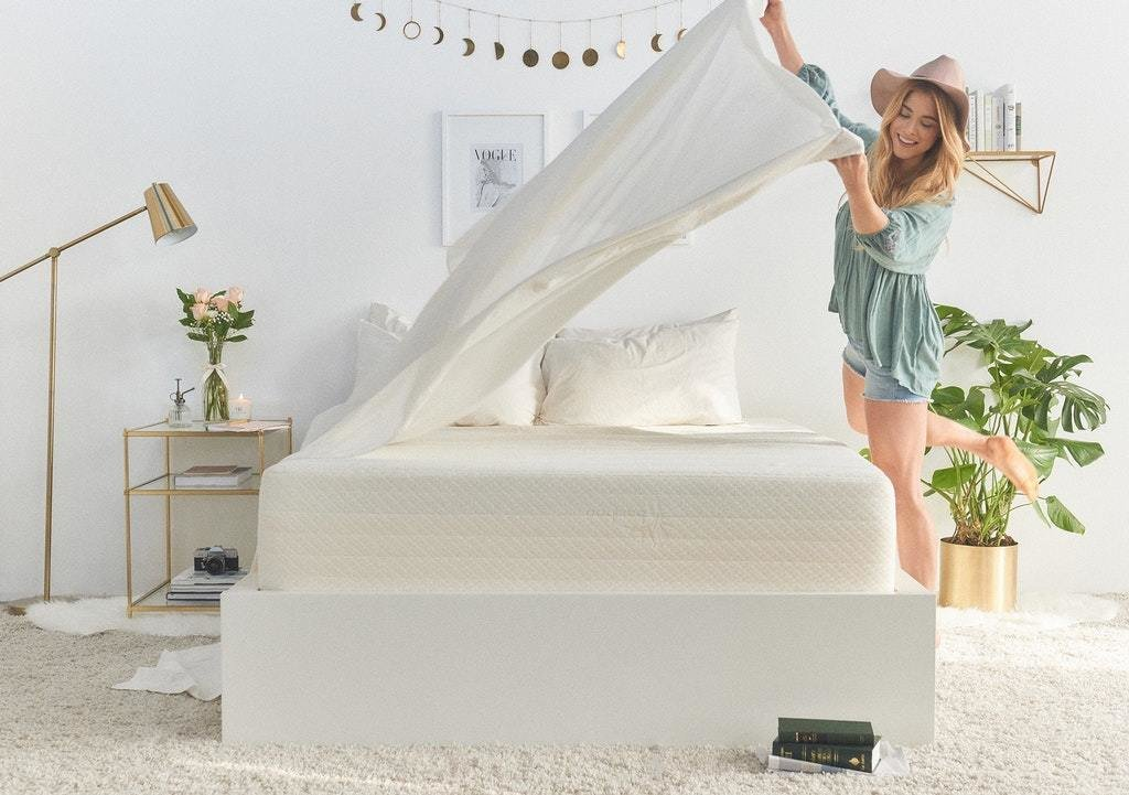 Brentwood Home Cypress Bamboo Gel Mattress  Photo 7 of 8 in 7 Best Affordable Mattress Companies That Will Take You to Cloud Nine