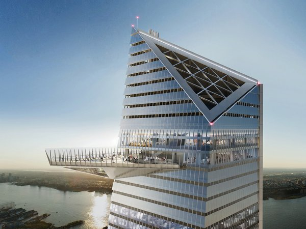 The Edge is poised to be the Western Hemisphere's tallest outdoor observation deck.