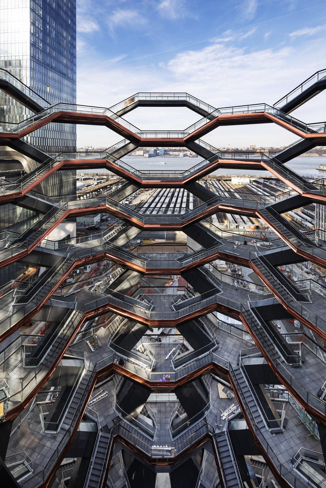 The Vessel by Heatherwick Studio at Hudson Yards