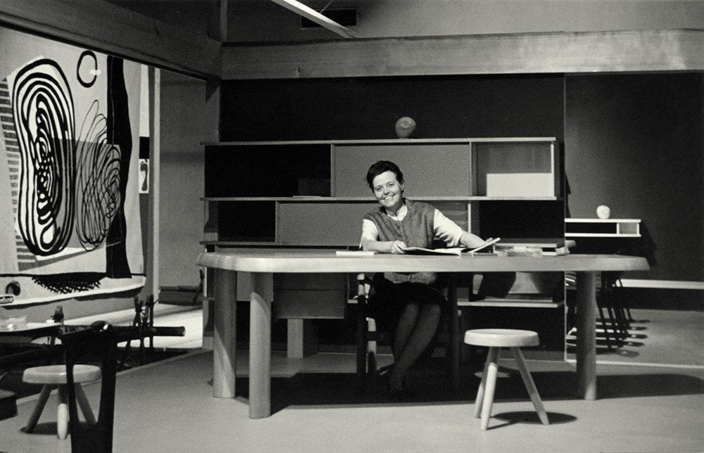Charlotte Perriand at work.  Photo 1 of 8 in Design Icon: Charlotte Perriand