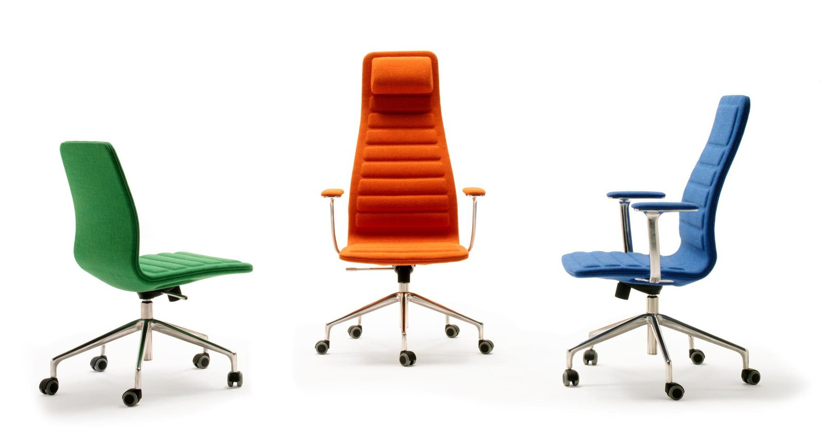 Like a fusion between his Low Pad design and the classic Eames model, this sleek lounge chair dressed up the upholstered foam backing for the board room.  Photo 12 of 12 in Design Icon: 10 Works by Jasper Morrison