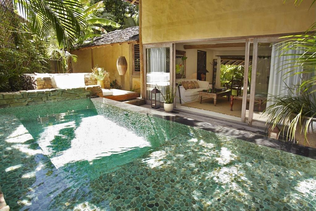 Outdoor and Swimming Pools, Tubs, Shower UXUA Casa Hotel & Spa in Trancoso, Bahia, Brazil  UXUA Casa Hotel & Spa