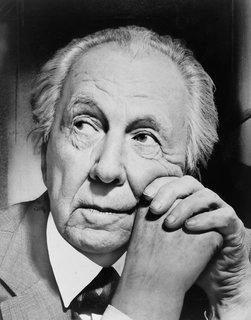 Frank Lloyd Wright in 1954.