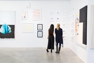 """""""[Our] approach is to distill the art buying experience through a distinct aesthetic that embodies tasteful curation,"""" says Tappan Collective."""