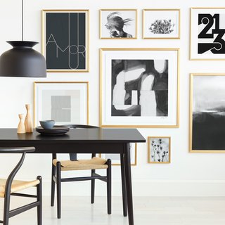 Start your own gallery wall with Minted's picks.