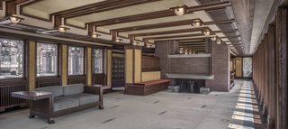 Following a painstaking, multimillion-dollar restoration, this masterpiece has been restored to its former glory and reopened to the public with newly expanded tour offerings. The Frederick C. Robie House, widely considered to be the epitome of Prairie style, was completed in 1910 as a private residence near the University of Chicago's Hyde Park campus. Additionally, several pieces of original furniture, including the home's dining table and chairs as well as the main floor's guest room furniture, are newly on display as part of a loan from the Smart Museum of Art at the University of Chicago.