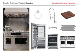 From sleek stainless-steel appliances to modern lighting and cabinet organization solutions, you can easily replicate the efficiency and aesthetic of Ted's kitchen with the assistance of Build.com. Offering a vast array of trending and stylish fixtures, the online home improvement retailer sells products in every category, for every style.