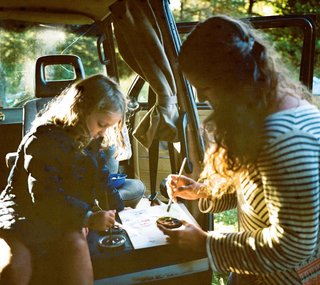 How a Family of Four Thrives in a 1985 Volkswagen Van - Photo 3 of 5 -