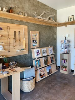 Bkb Ceramics is one of our favorite small shops in downtown Joshua Tree. You'll find ceramics, books, jewelry, and other artwork made by locals to JT.