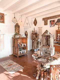 This charming shop has everything you could need in the desert—everything from Western boots and jackets to skincare to take care of yourself in our dry climate.