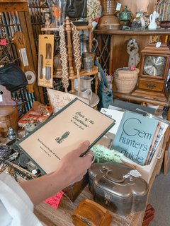 We love this shop in old town Yucca. Many different vendors sell vintage and antique home goods here, and it's always fun to pop in and see what's new.