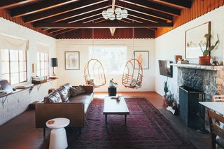 This is the house that reignited our love of design and creating experiences. If you're craving being close to town (walking distance from the weekend farmer's market and brunch), yet surrounded by over 100 Joshua trees, this is the place.