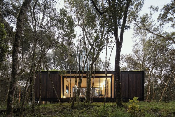 A Brazilian Couple's Prefab Cabin Is the Perfect Outpost For Forest Bathing