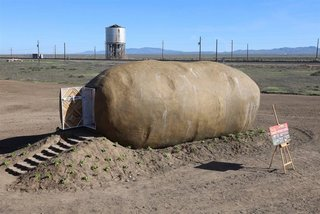 We Never Thought We'd Want to Sleep Inside a Potato—Until Now