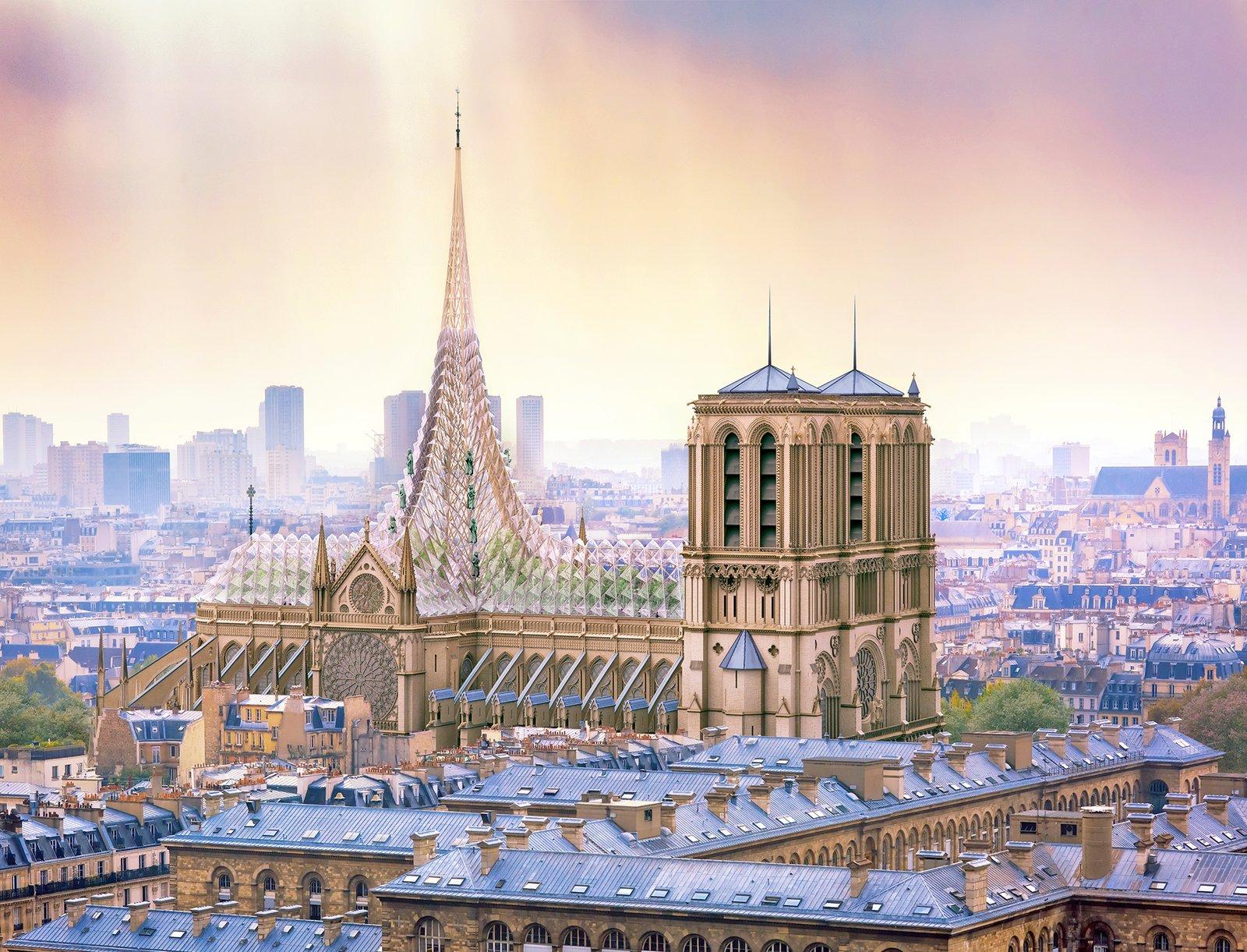 Notre Dame Cathedral Urban Farm exterior