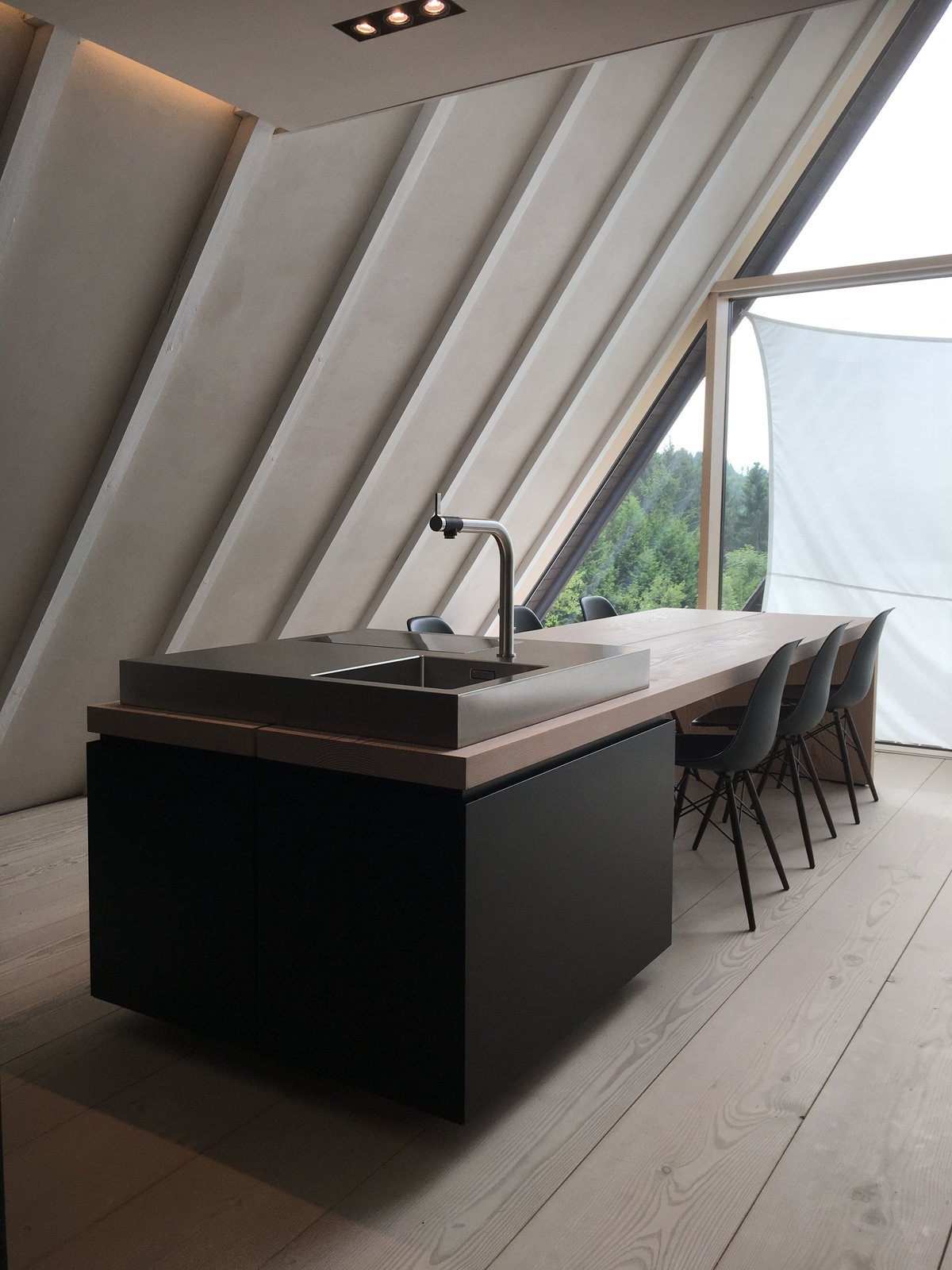 solarferienhaus s3 dining area