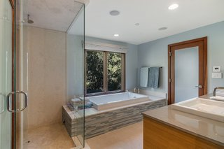 A look at one of the home's three full bathrooms.