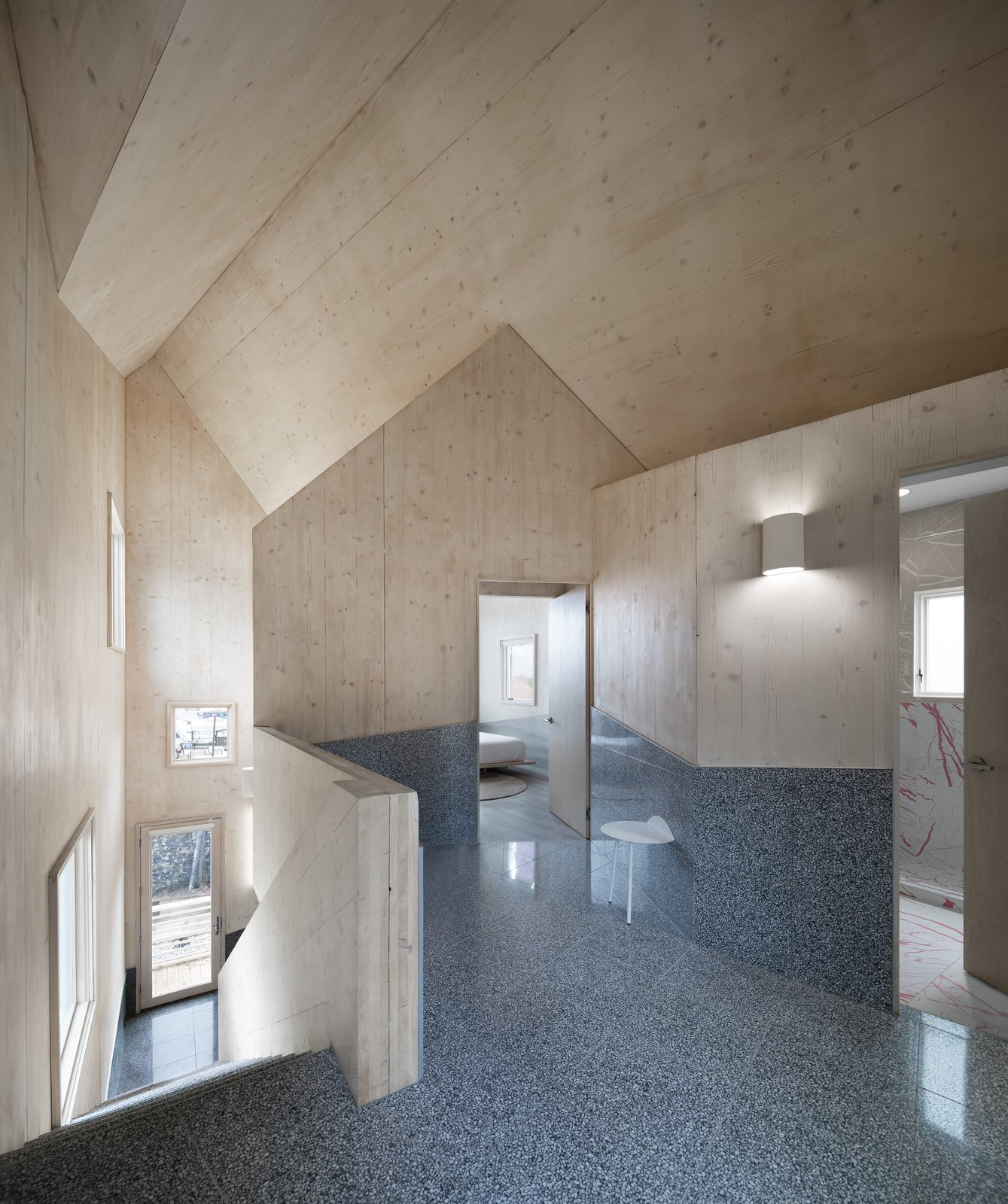 Haus Gables gable roof interior