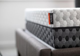 The Layla copper foam mattress is designed to have a soft side and a firm side, so you can easily flip to adjust.