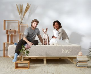 Birch Living's cozy mattresses are made from eco-friendly materials.