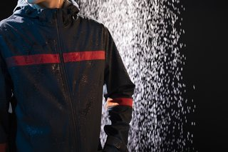 The Maxwell Stripe Long Parka ($295) is waterproof and windproof while staying breathable.