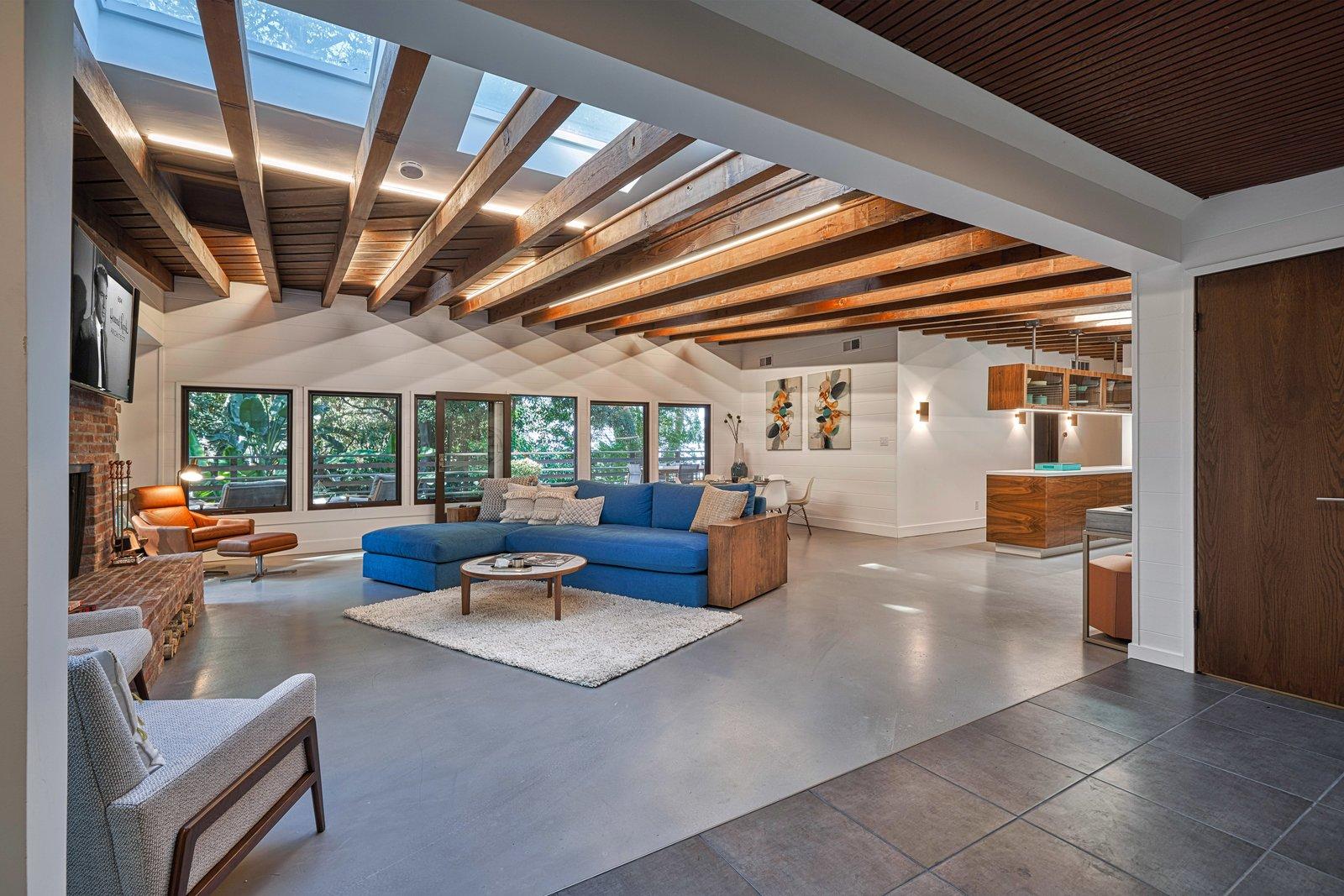 Millard Kaufman Residence living room