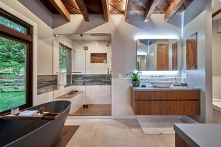 Another one of the home's three bathrooms.