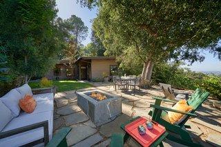 The outdoor areas were originally designed by celebrated landscape architect Garrett Eckbo.