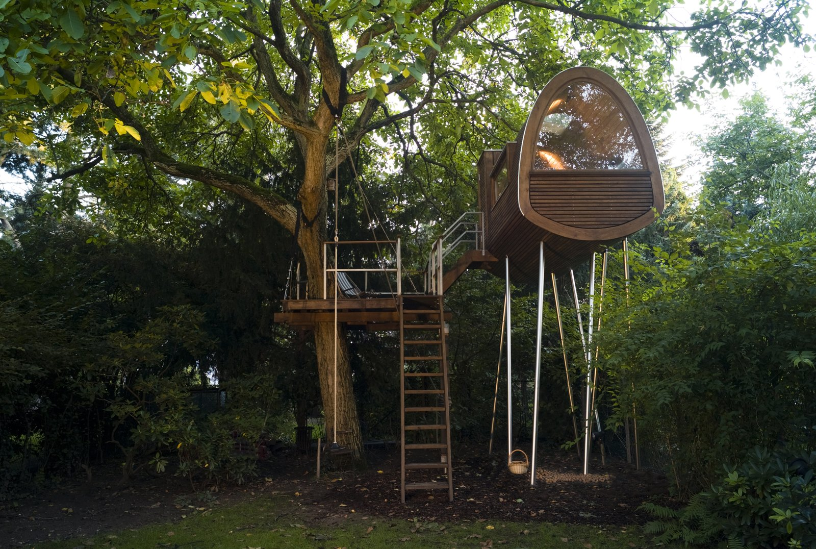 Nussraum Auswahl tree house