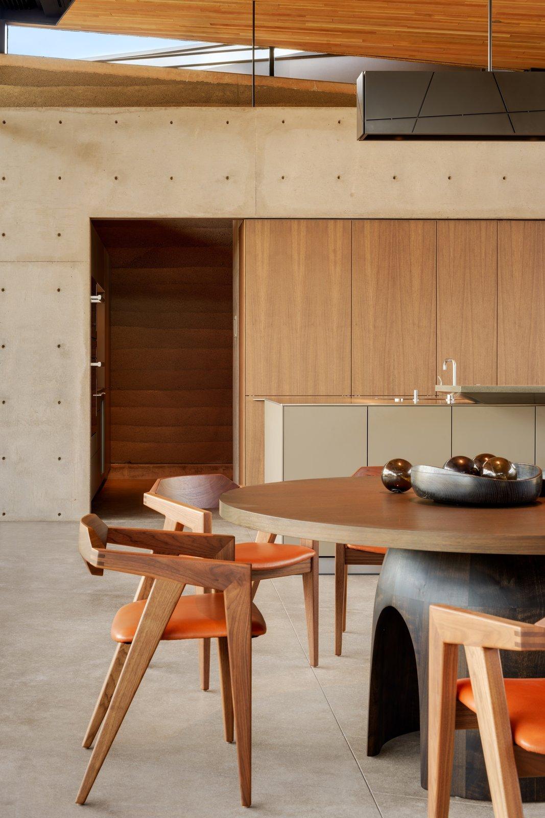 Dancing Light House concrete kitchen