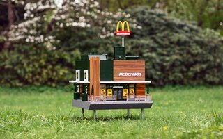 The World's Smallest McDonald's Is For the Bees