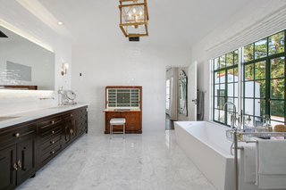 A look at one of the seven bathrooms.