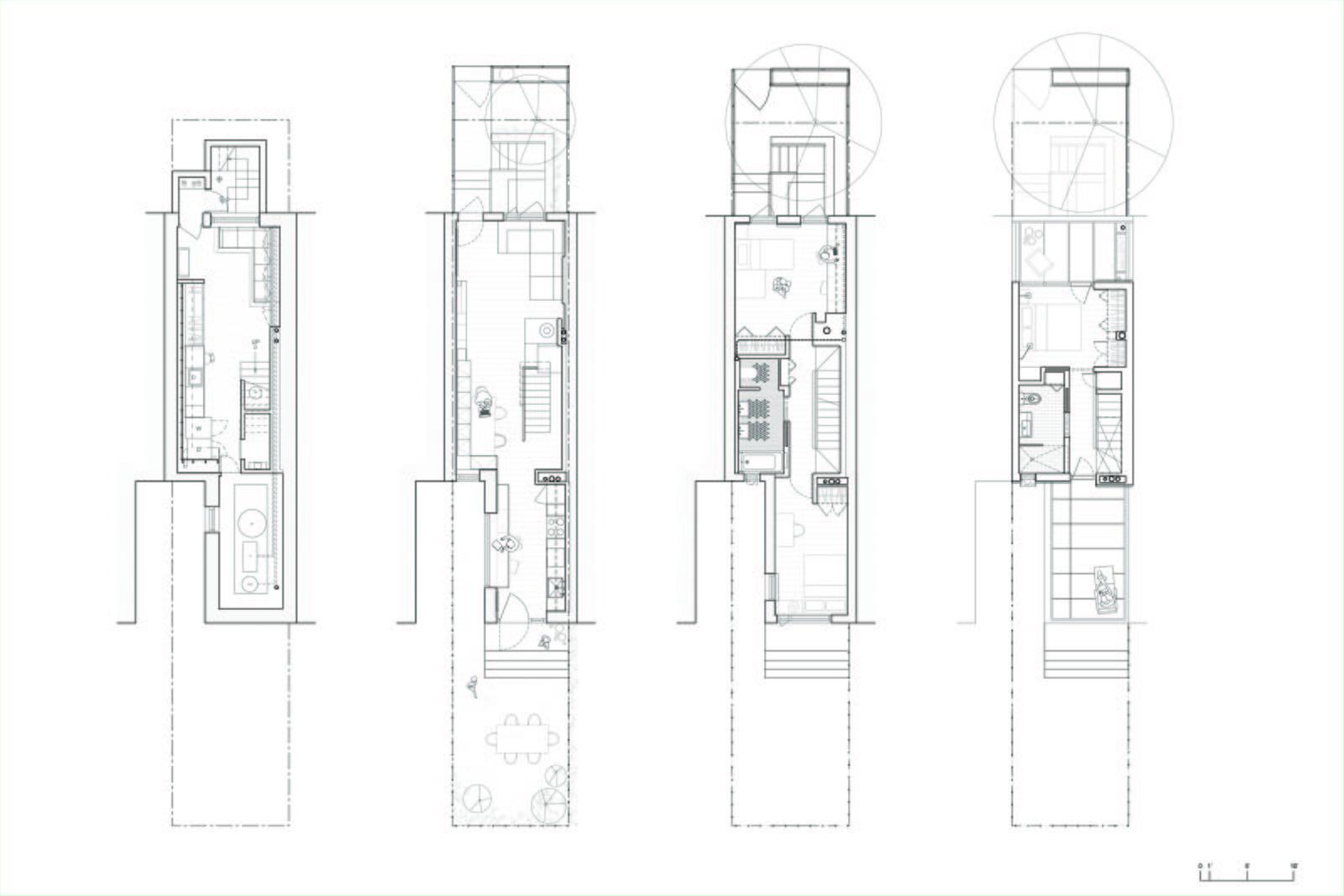 The floor plan of Little House, Big City.