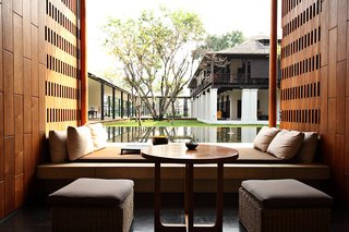 For foodies craving an inner sanctuary within the hustle and bustle of Chiang Mai, this is it. The resort is set upon the banks of the Mae Ping River and overlooks Suthep Mountain. The Anantara features beautiful minimalist design, excellent food, and easy access to the top sites in Chiang Mai.