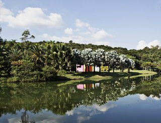 A feast for the eyes, Inhotim is the only property on the list that is not a hotel but rather one of the most ambitious global projects dedicated to art and nature. It features more than 2,000 acres of contemporary art and botanical gardens, making it the largest art park in South America.